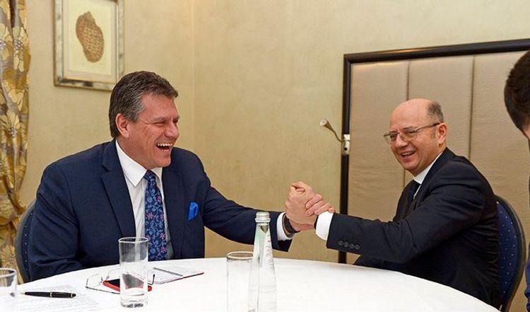 Шевчович: Наши усилия в вопросе поставки каспийского газа в Европу находятся на последнем этапе