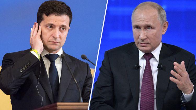 Zelenski və Putin arasında telefon danışığı olub