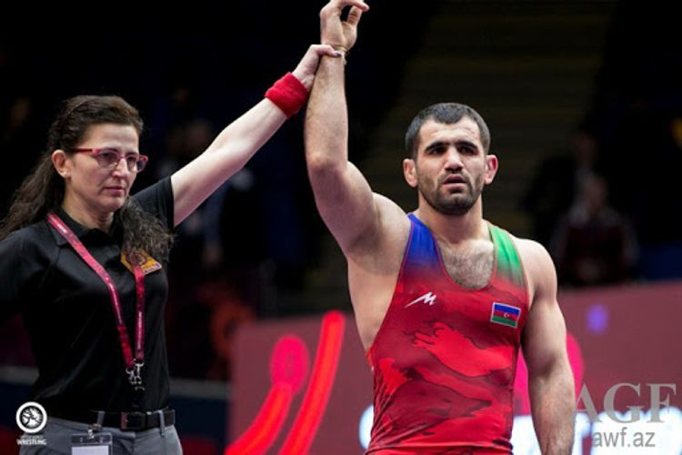 Еще один азербайджанский борец победил армянского спортсмена