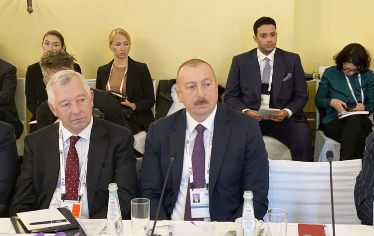 President Ilham Aliyev attended Energy Security round table as part of Munich Security Conference - UPDATED