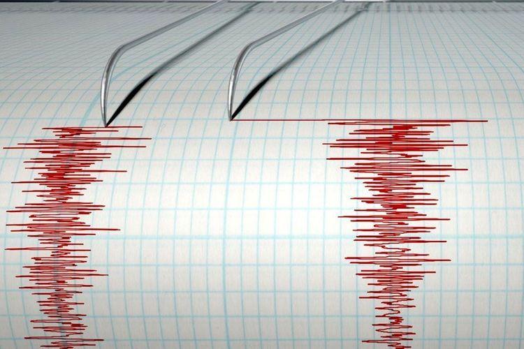 В Каспийском море произошло землетрясение - <span class=