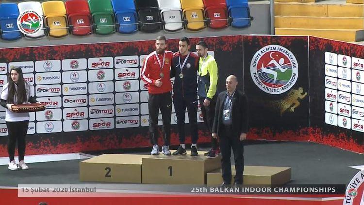 Азербайджанский атлет завоевал золотую медаль на чемпионате Балканских стран
