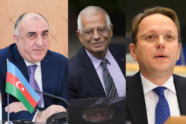 Azerbaijani FM to meet with EU High Representative and Commissioner