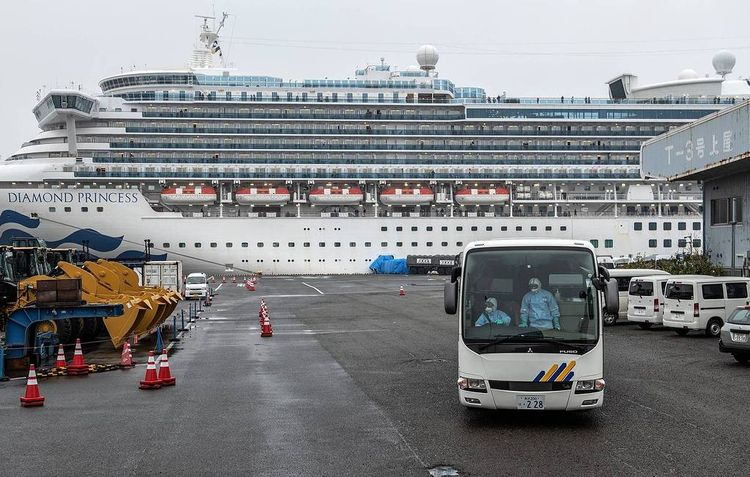 First Russian passenger of cruise ship in Japan diagnosed with coronavirus