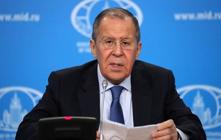 """Lavrov: """"Macron showed intention to hold dialogue with Russia"""""""