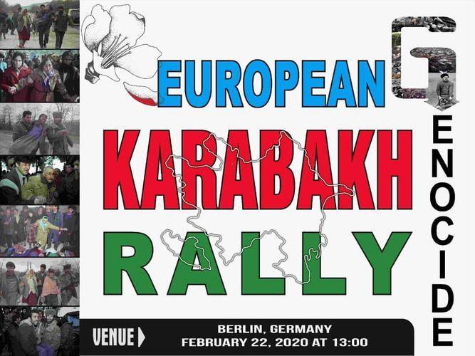 All-European Karabakh rally to be held in Berlin - VIDEO