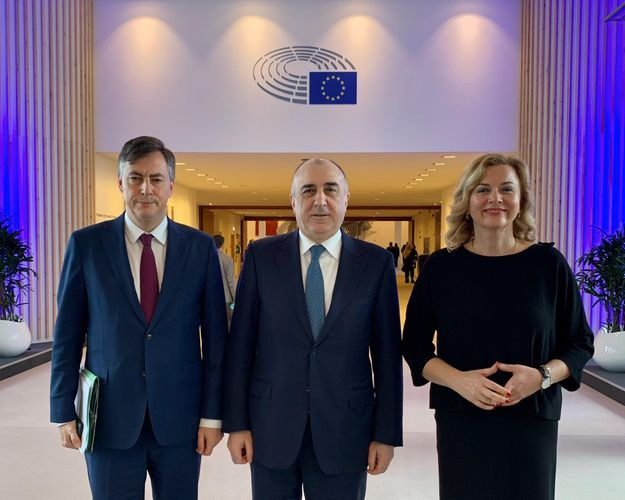 """Azerbaijani FM: """"Nagorno Garabagh should be resolved in accordance with the relevant resolutions of the European Parliament"""""""