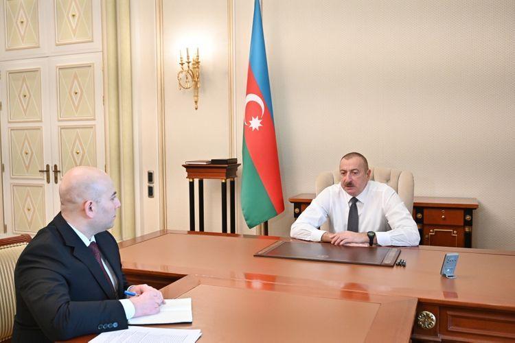 Президент Ильхам Алиев: Вся дорожно-транспортная инфраструктура должна отвечать современным требованиям