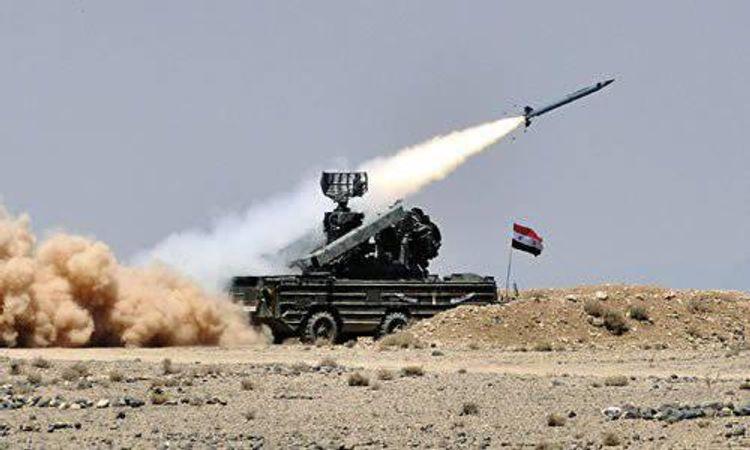 Системы ПВО Сирии отразили атаку на окрестности города Джебла