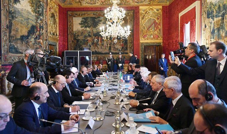 Состоялась встреча президентов Азербайджана и Италии в расширенном составе - ОБНОВЛЕНО