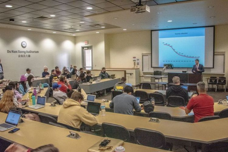 San Diego State University hosts a lecture on Azerbaijan