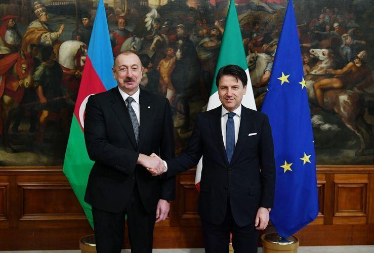 Azerbaijani-Italian documents exchanged