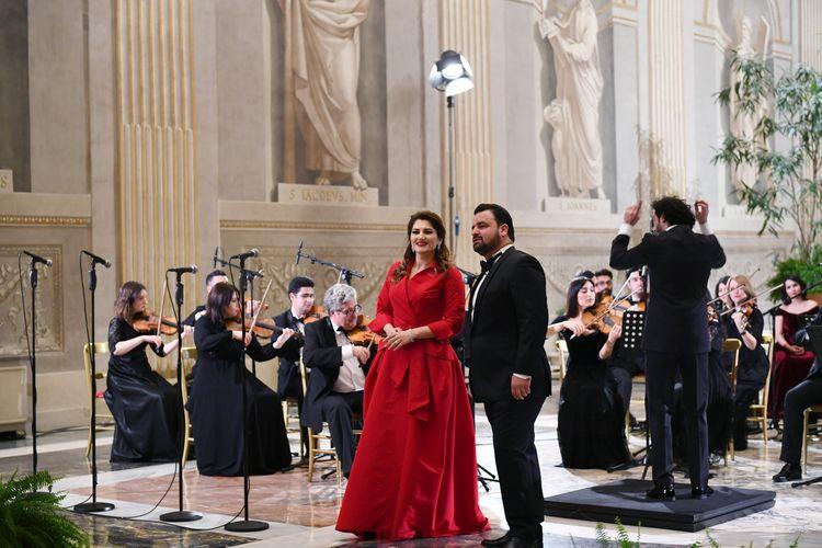 İtaliyada Azərbaycan Mədəniyyət İlinin açılışı münasibətilə konsert proqramı təqdim olunub