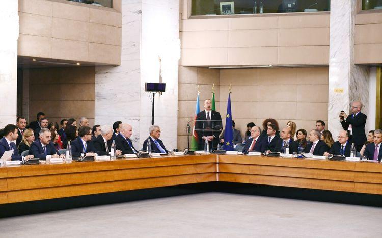 В Риме прошел азербайджано-итальянский бизнес-форум  - ОБНОВЛЕНО