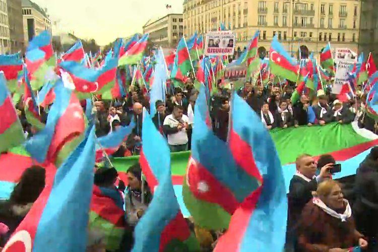 В Берлине прошел Общеевропейский Карабахский митинг - ОБНОВЛЕНО