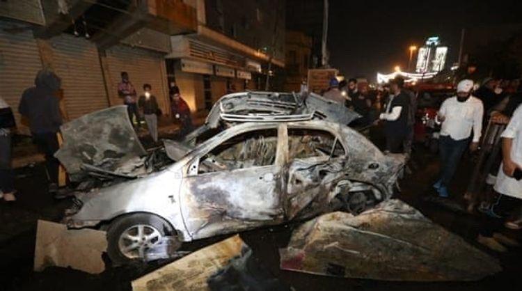 В Багдаде произошла серия взрывов, пострадали 17 человек