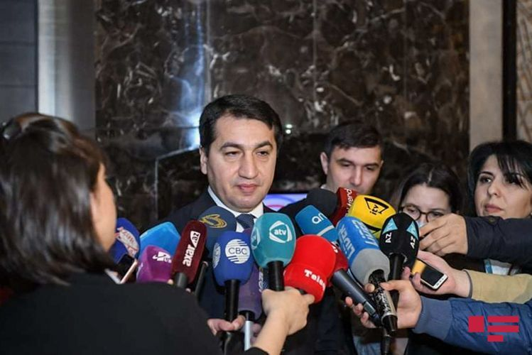 """Hikmet Hajiyev: """"The main purpose is to achieve recognition of Khojaly tragedy as the genocide at the level of the international courts"""""""