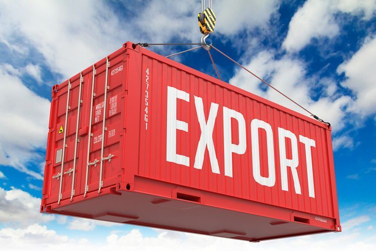 Rating of countries where Azerbaijan exported greatest quantity of products last month  - TOP-10