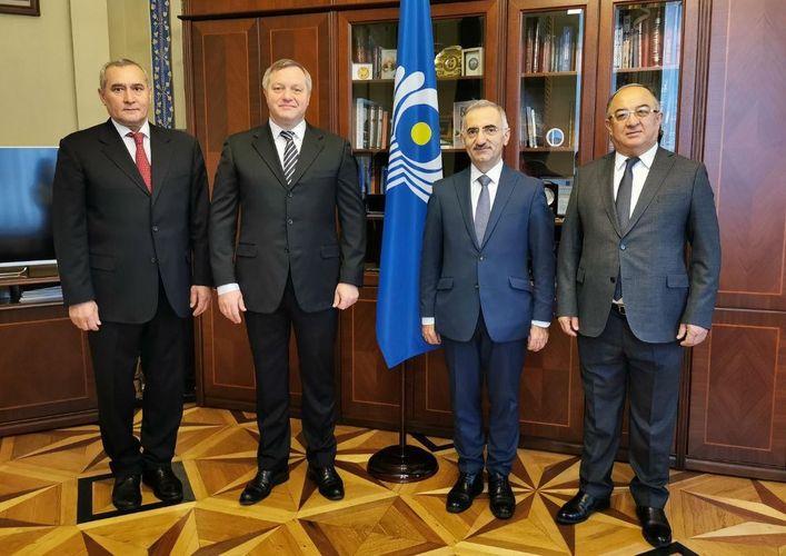 Azərbaycan MDB Parlamentlərarası Assambleyasının Ekspert Şurasının iclasında iştirak edib