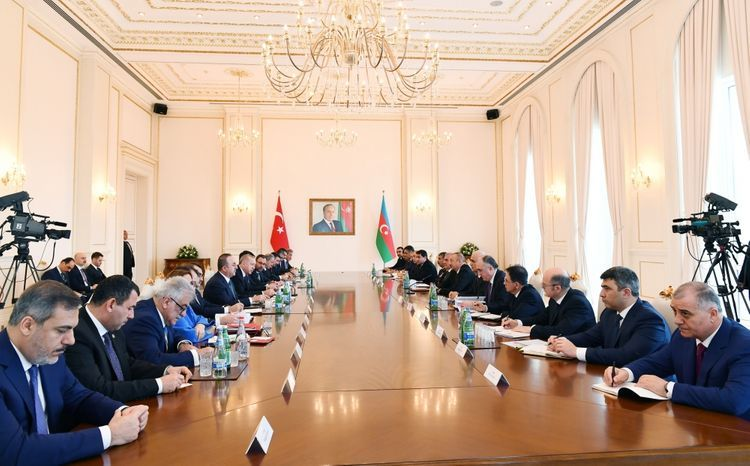 Eighth meeting of Azerbaijan-Turkey High-Level Strategic Cooperation Council held - UPDATED