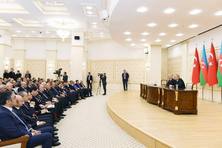 "President Ilham Aliyev: ""Azerbaijan always supports the just cause of Turkey"""