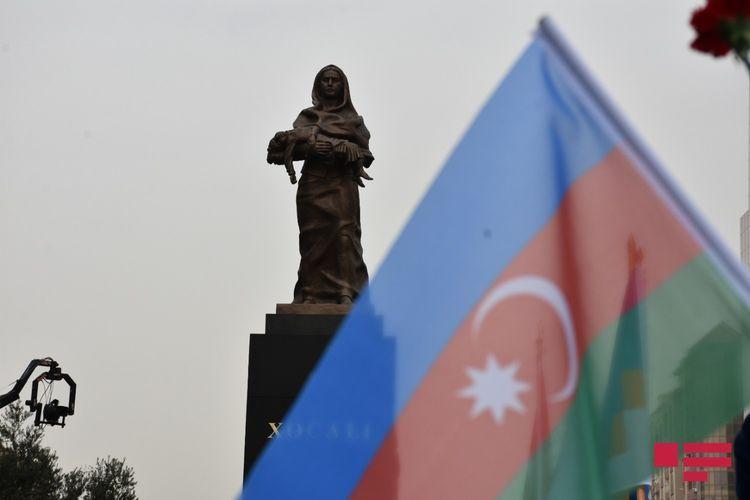 Azerbaijan commemorates Khojaly genocide - <span class=