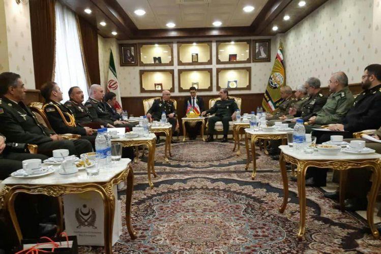 Состоялось заседание азербайджано-иранской совместной военной комиссии