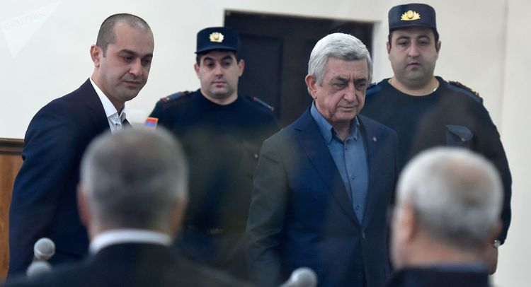 Trial of Armenia 3rd President Sargsyan and others adjourns