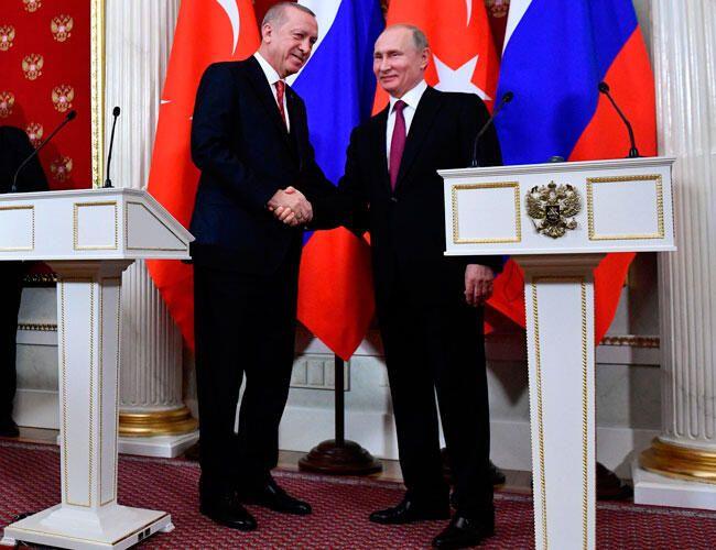 Putin congratulates Erdogan on his birthday