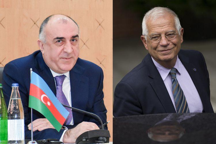 Josep Borrell and Elmar Mammadyarov have telephone conversation