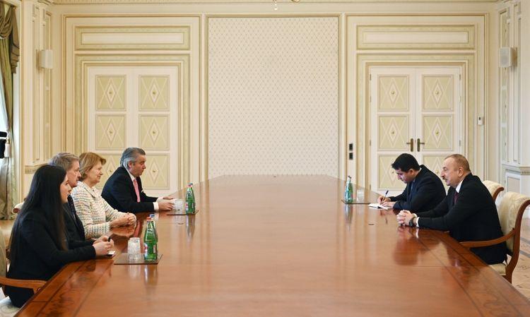 Президент Ильхам Алиев принял делегацию во главе с торговым посланником британского премьера - ОБНОВЛЕНО