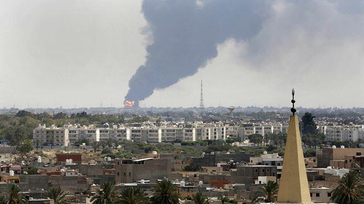 Air traffic at Tripoli