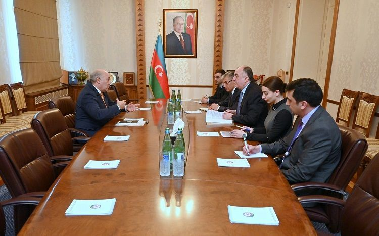 Azerbaijani FM meet with Chargés d
