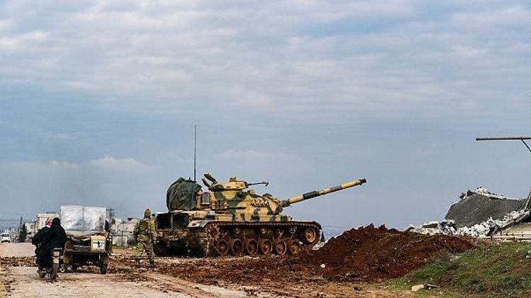 Турция нанесла ответные удары по позициям сирийской армии