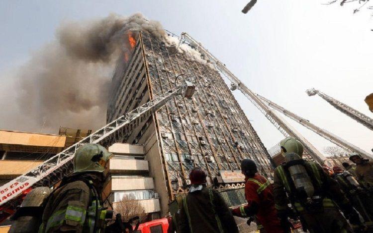 В Иране произошел сильный пожар: 5 погибших, более 60 пострадавших