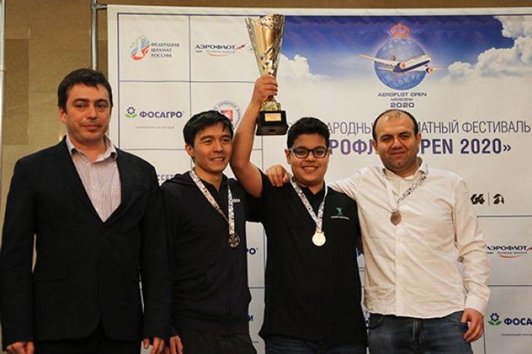 Азербайджанский шахматист стал победителем международного турнира «Аэрофлот Опен»