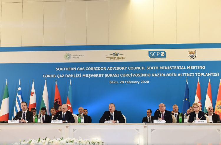 VI Ministerial Meeting of Southern Gas Corridor Advisory Council gets underway in Baku - <span class='red_color'>UPDATED</span>