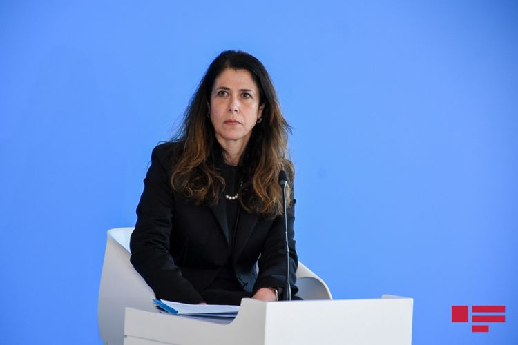 """Alessandra Todde: """"Azərbaycan və İtaliya arasında energetika sahəsində əməkdaşlığın gözəl gələcəyi var"""""""