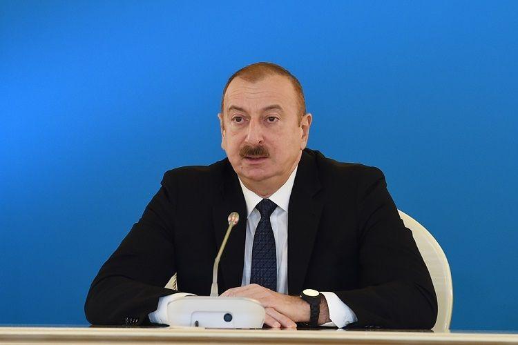"""Azərbaycan Prezidenti: """"Cənub Qaz Dəhlizi layihəsi tamamlanandan sonra bizim çoxtərəfli əməkdaşlığımız digər sahələrdə davam edəcək"""""""