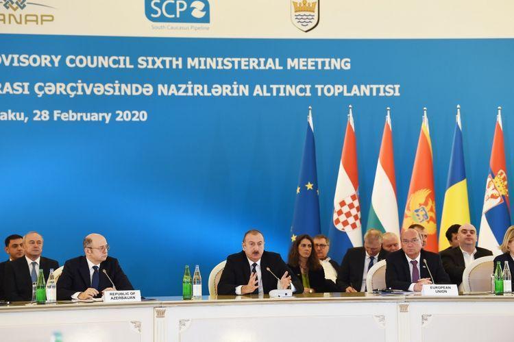 Президент: В современной истории Азербайджана нефтяной фактор сыграл решающую роль