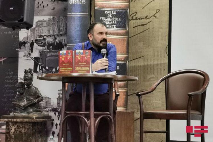 Moskvada türkiyəli tarixçi-alim Məhmət Pərinçəkinin kitabı təqdim olunub - FOTO