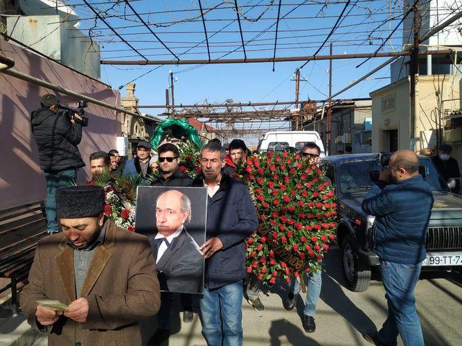 Народный артист Агахан Салманлы похоронен - ФОТО