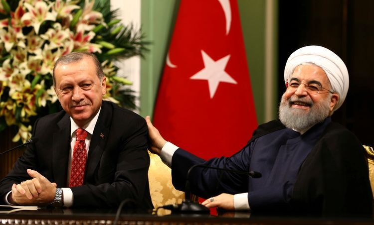 Rouhani and Erdogan hold phone talks