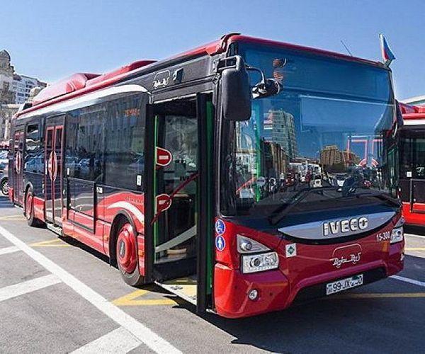В Баку произошло задымление в пассажирском автобусе ООО «BakuBus»