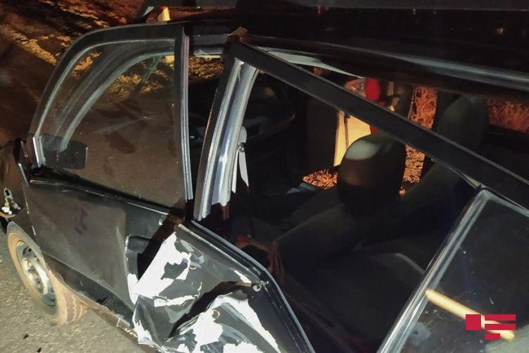 В результате ДТП в Агсу пострадали два человека