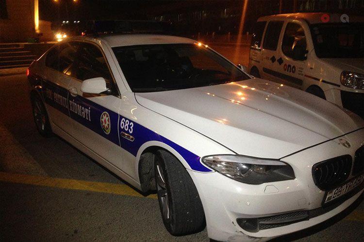 В Гяндже произошло ДТП, есть пострадавший