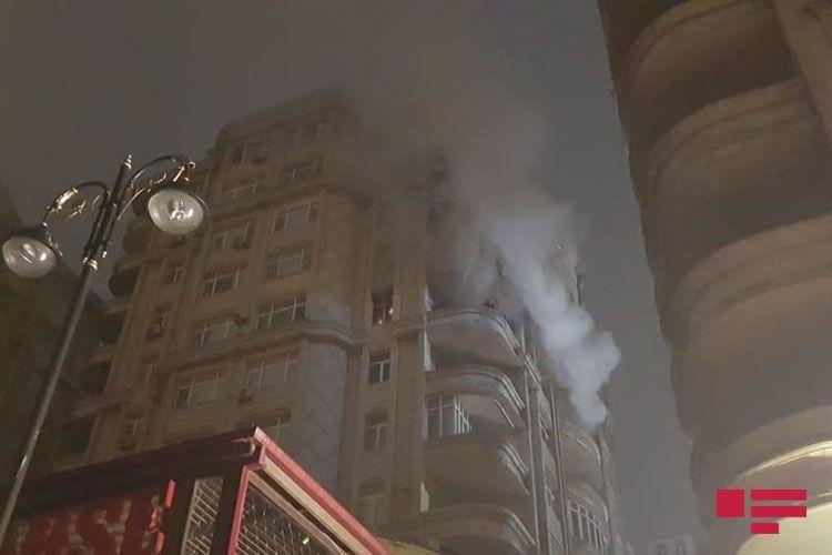 В Баку в высотном доме произошел пожар - ФОТО - ВИДЕО - ОБНОВЛЕНО