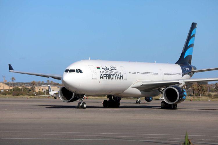 Flights suspended in Libya