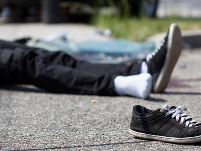 В Шамкире автомобиль сбил школьника