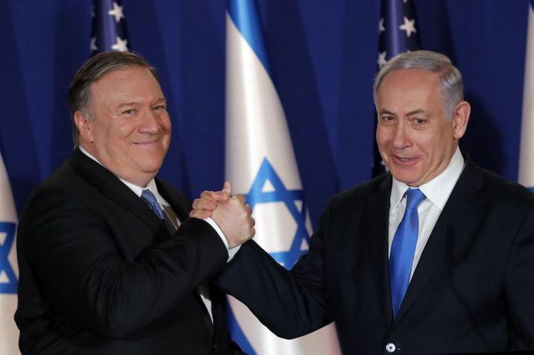 Pompeo Netanyahu ilə telefon danışığında İranla bağlı müzakirələr aparıb